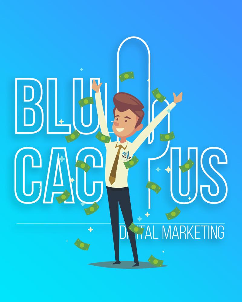 Blue Cactus - Oneline Marketing Bureau - Blije medewerker