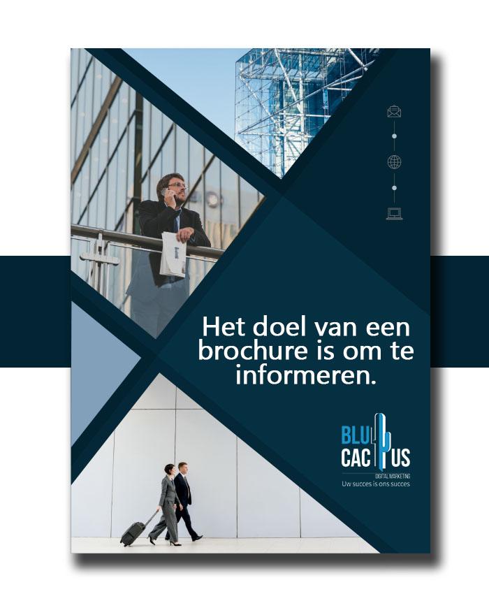 BluCactus - Brochure ontwerp bureau - Informatie brochure