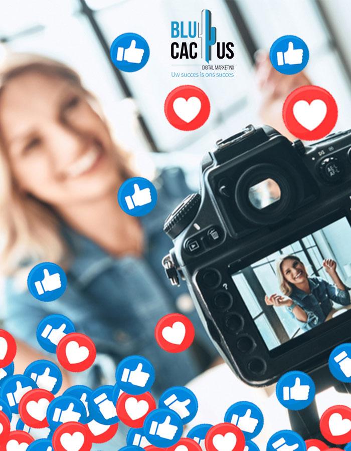 BluCactus - vrouw neemt foto op met profesioneele camera