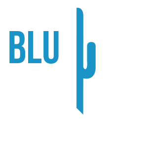 BluCactus Nederland Logo wit