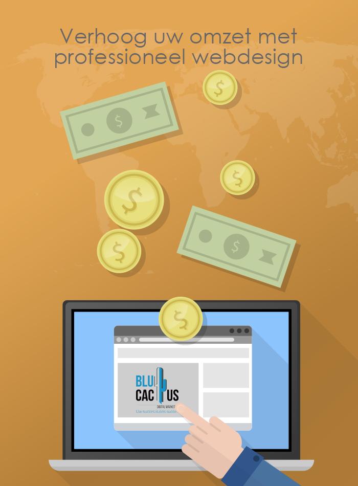 BluCactus Web design - verhoog uw omzet
