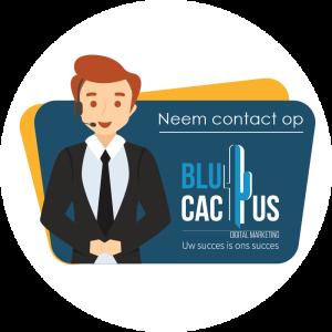 BluCactus - Presentatie bureau - Neem contact met ons op