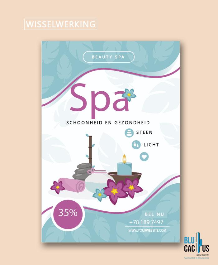 BluCactus - Brochure ontwerp bureau - SPA Brochure