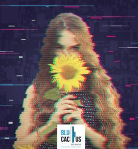 Blucactus-Glitch-effect- grafische ontwerp trends in 2020