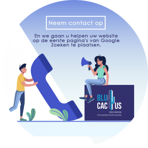 BluCactus Marketing Bureau - Neem contact met ons op