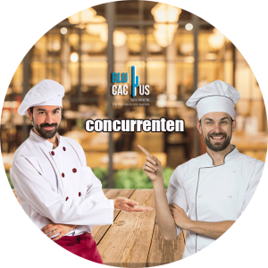 Blucactus-Marketingstrategieën voor restaurants-concurrenten