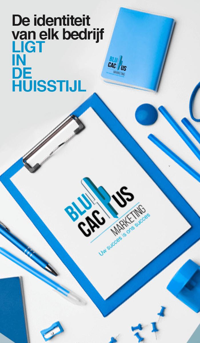 BluCactus - Huisstijl bureau artikelen