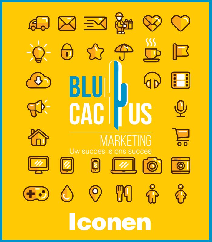 BluCactus - Ook Iconen of pictogramen horen erbij
