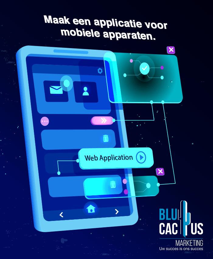 BluCactus - mobile applicatie ontwikkelen
