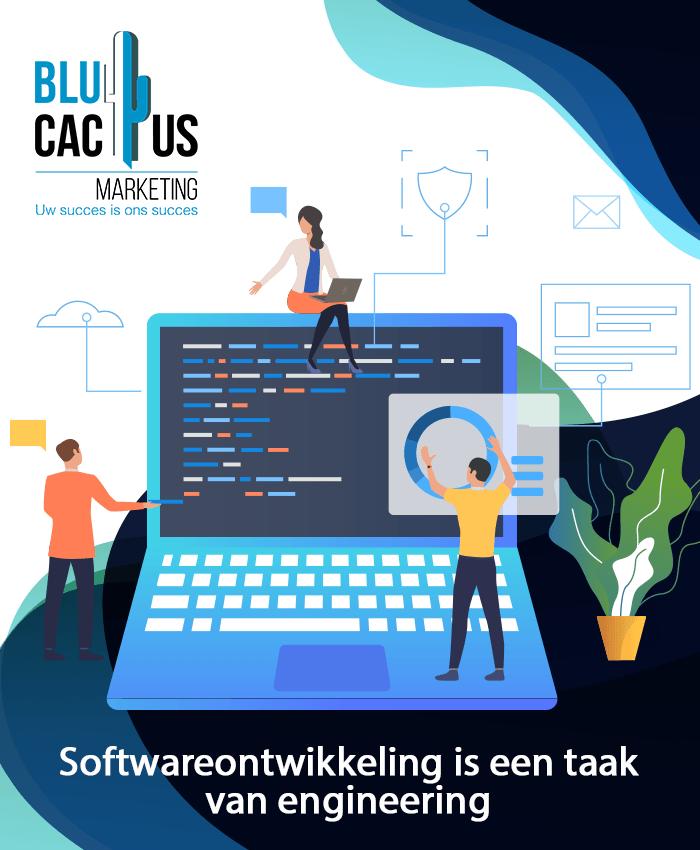 Blucactus Wat is softwareontwikkeling Software Ontwikkeling
