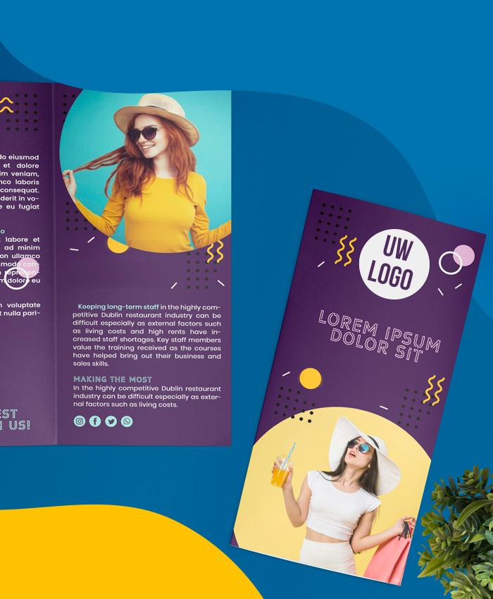 BluCactus Brochure ontwerp De voordelen van brochuremarketing en professionele marketing Brochure in de modebranche nu bedrijfsbrochure laten maken
