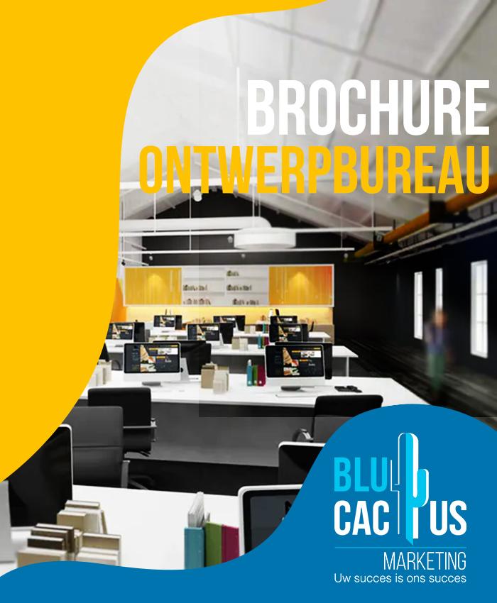 BluCactus Brochure ontwerpbureau - bedrijfsbrochure laten maken