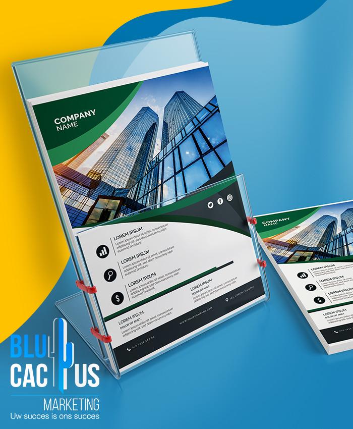 BluCactus Brochure ontwerp personalisatie bedrijfsbrochure laten maken