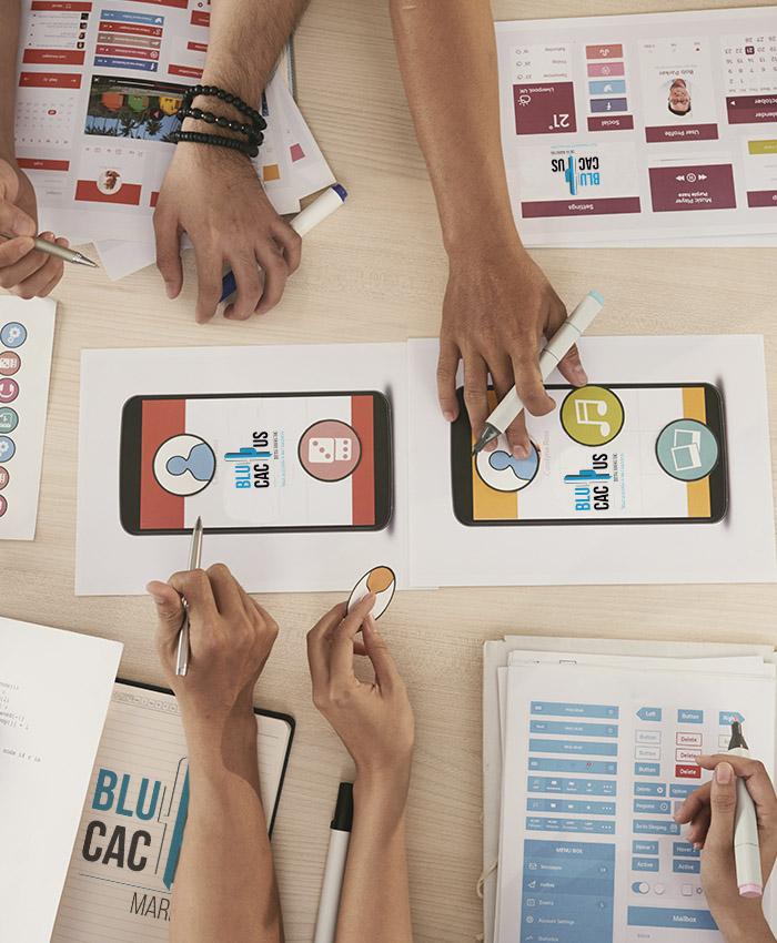 BluCactus - Logo ontwerp bureau legt uw identiteit uit