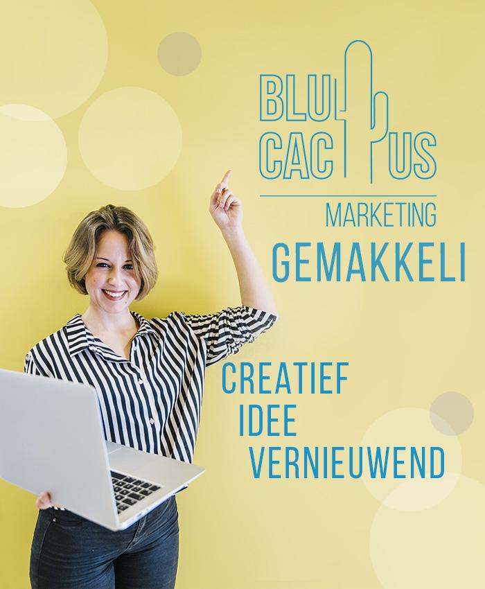 BluCactus - Logo Ontwerp Gemakkelijk