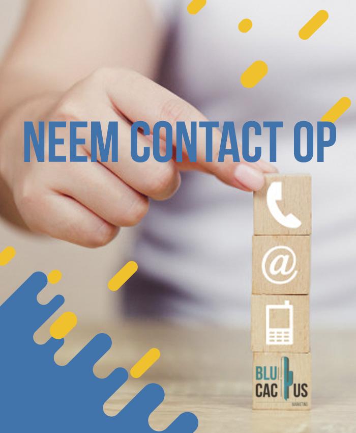 BluCactus - Neem contact met ons op +31-20-737 00 27