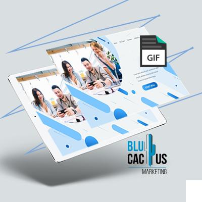 BluCactus - Trends in Webdesign - animatie van ontewerpelementen