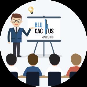 Blucactus - praat over uw onderwerp