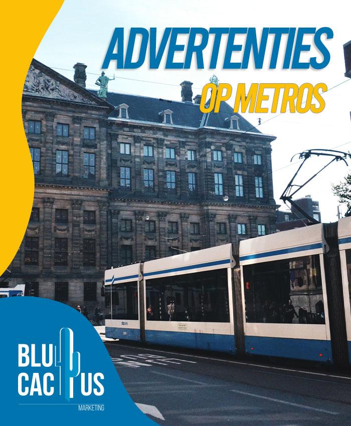 BluCactus buitenreclame huren - Advertenties op metros