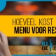 Blucactus - Hoeveel kost een digitale menukaart voor een restaurant?