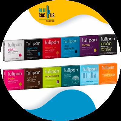 Blucactus - beste marketing campagnes - tulipan