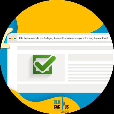 Blucactus-klikfrequentie -Use-Beschrijvende-URLs