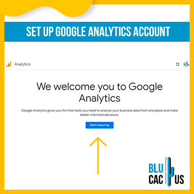 Blucactus-Google Analytics opzetten 1-opzet-google-analytics-account