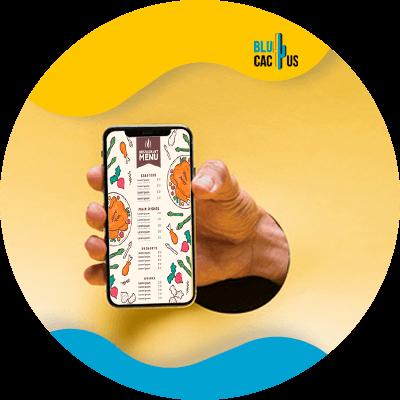 Blucactus-digitale menukaart voor restaurants 3-digitaal-scherm-om-een-ÔÇïmeer-gedenkwaardige-ervaring-te-cre+½ren