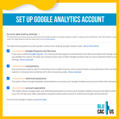 Blucactus-Google Analytics opzetten 3-opzetten-google-analytics-account