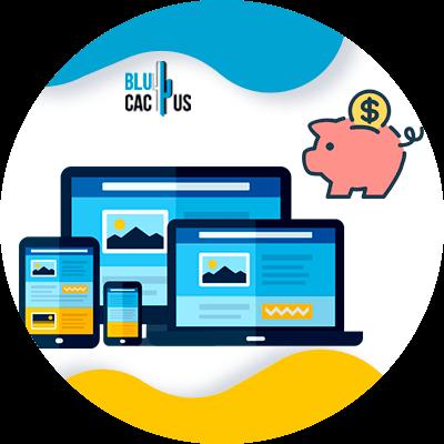 Blucactus- Wat is het verschil tussen een landingspagina en een website? -Excellent-kosten-batenverhouding