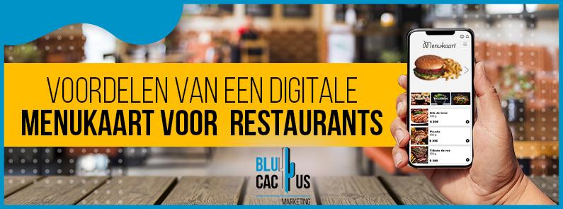BluCactus - digitale menukaart voor restaurants - title