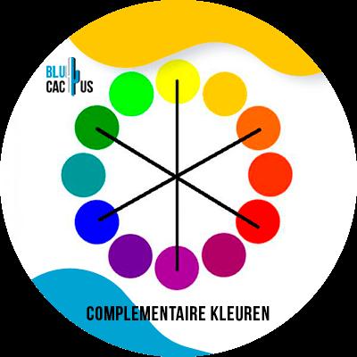 Blucactus-Hoe selecteert men de kleuren voor het logo van een modebedrijf?-complementaire-complementaire-van-kleur-of-tegenovergesteld