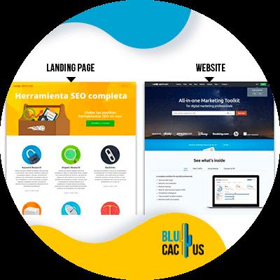 Blucactus- Wat is het verschil tussen een landingspagina en een website? -conclusie