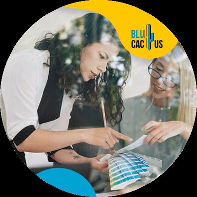 Blucactus-Hoe selecteert men de kleuren voor het logo van een modebedrijf?-kan-uw-merk-in-+®+®n-zin beschrijven
