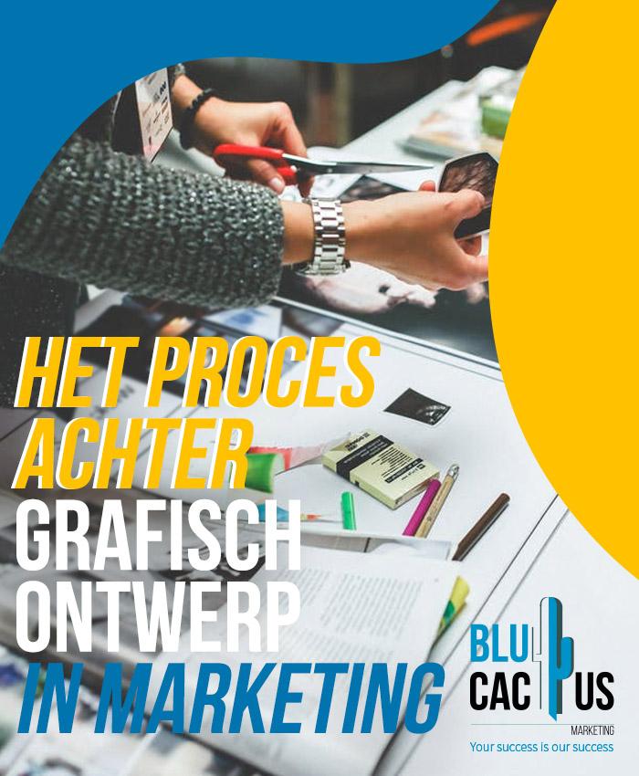 BluCactus Het proces achter grafisch ontwerp in marketing grafisch ontwerpbureau