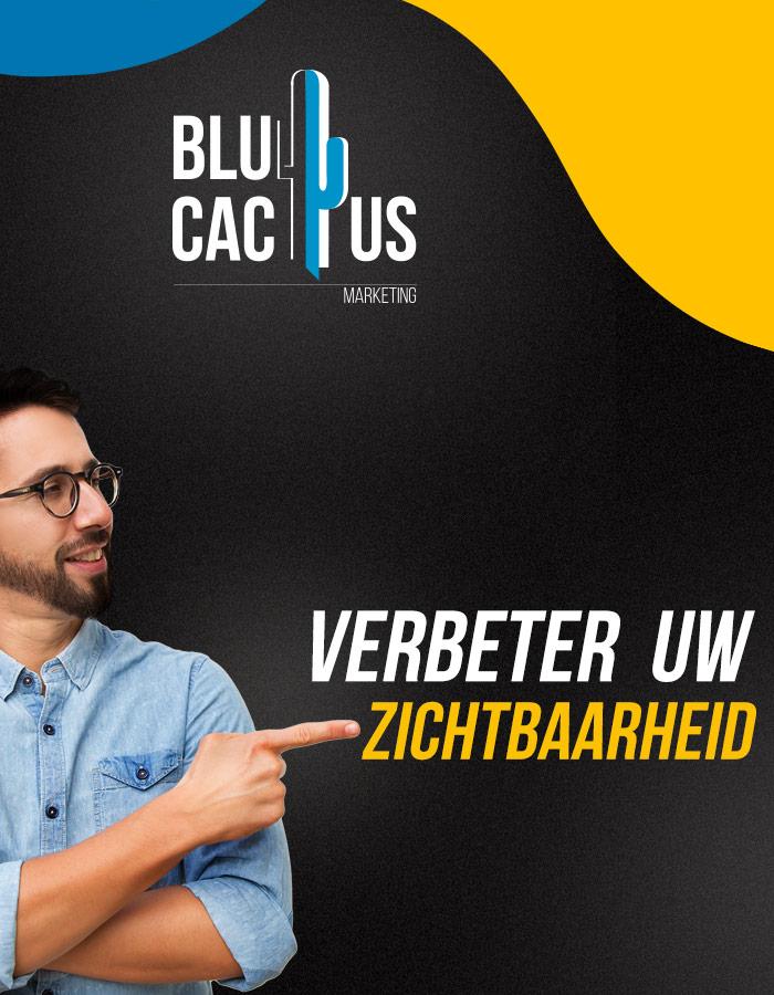 BluCactus Verbeter uw zichtbaarheid imet Inbound Marketing Bureau