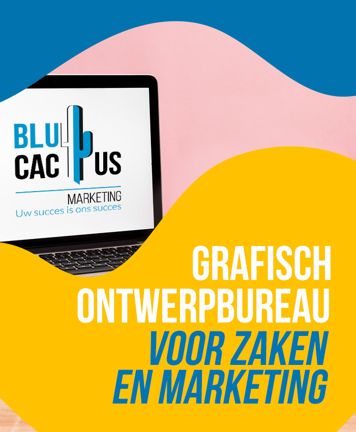 BluCactus grafisch ontwerpbureau voor zaken en marketing grafisch ontwerpbureau