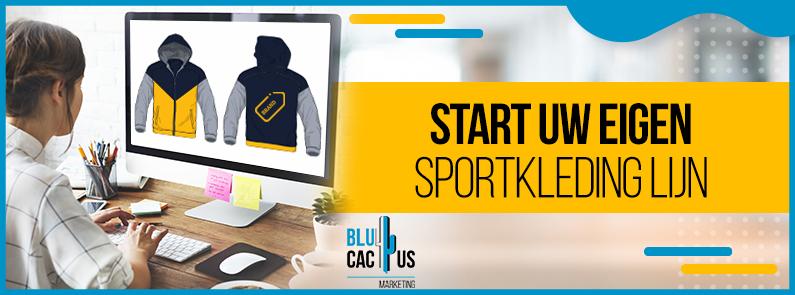 BluCactus - Start uw eigen sportkledinglijn - TITLE