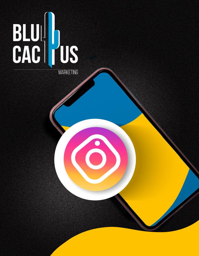 BluCactus - Telefoontje met het Instagram ikontje