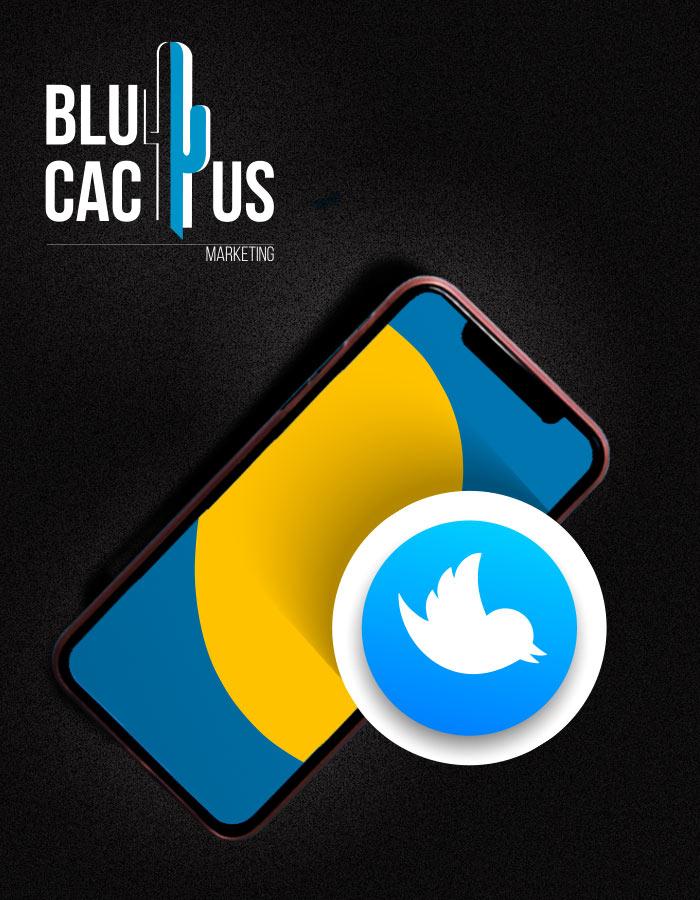 BluCactus - Telefoontje met het Twitter ikontje