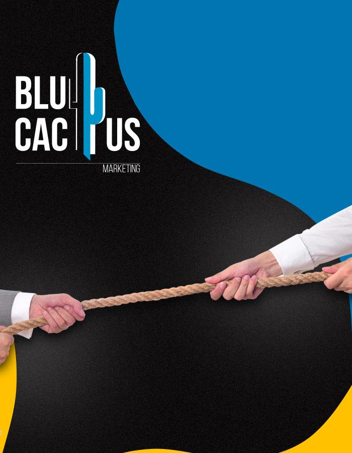 BluCactus - Touwtrekken met 2 personen