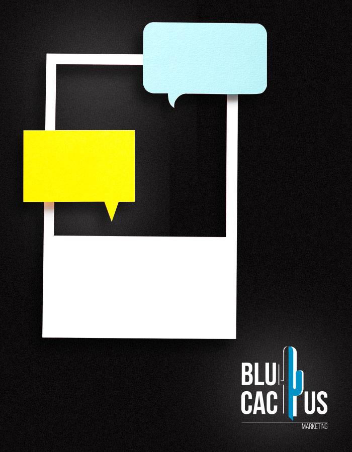 BluCactus - Mobieltje met een chat van 2 personen