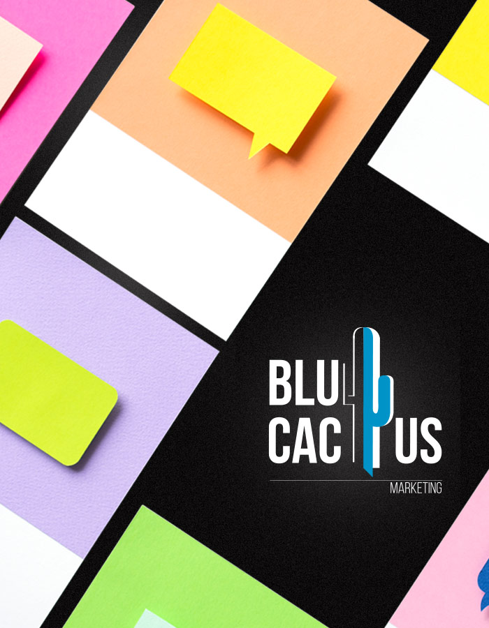 BluCactus Post-its in diverse felle kleuren