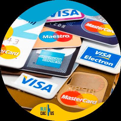 BluCactus - Marketingstrategieën voor commerciële banken - visa