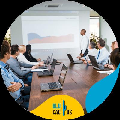 Blucactus-Hoeveel kost een PowerPoint-presentatie? -kan-worden-geprojecteerd-op-gigantische-schermen-of-televisies