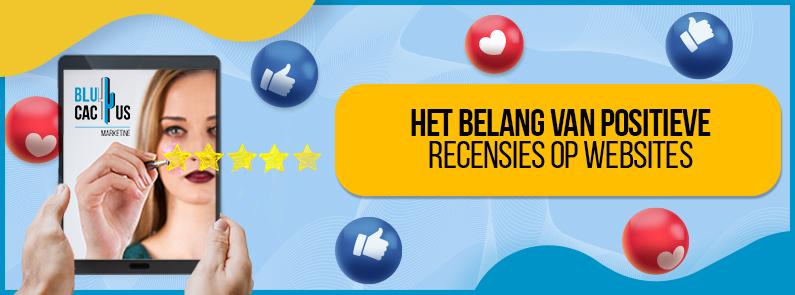 BluCactus - Positieve recensies voor websites - TITLE