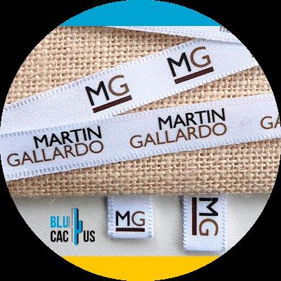 Blucactus - Labels in de mode-industrie --tape-etiketten