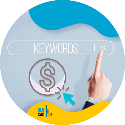 Blucactus- Google Ads-campagne --Bieden-voor-zoekwoorden