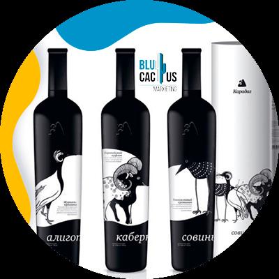 Blucactus-How-design-een-modern-wijnetiket