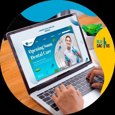 Blucactus-- Marketingstrategieën voor tandartspraktijken -Website-persoonlijk-en-aantrekkelijk